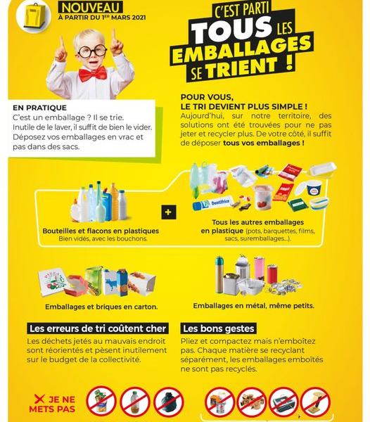 Guide du tri du Syndicat Centre Hérault