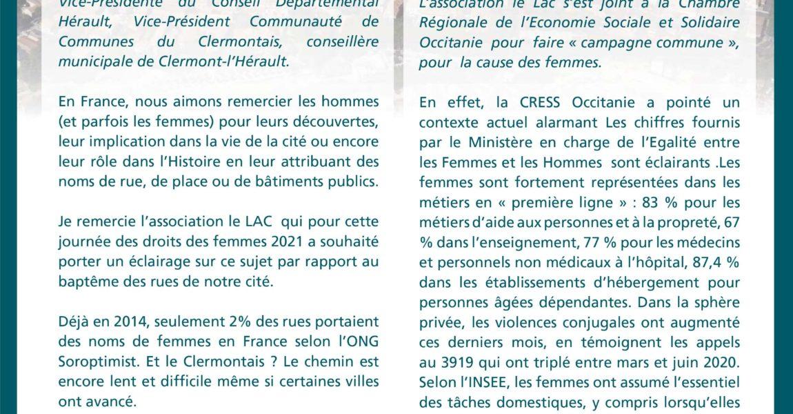Où sont les femmes à Clermont l'Hérault ?