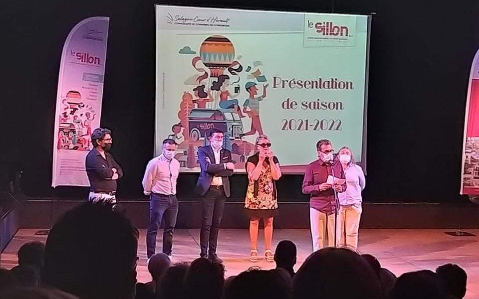 Présentation de la saison 2021-2022 du théâtre Le Sillon